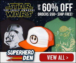 Star Wars Clearance sale up to 60% Off!