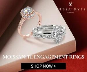 Shesaidyes Wedding Rings Sale 2021