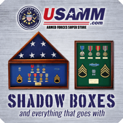 Get your Military Shadow Box from USAMM