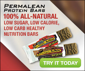 100% All-Natural, Low Sugar, Low Carb, Low Calorie, healthy nutrition bar!