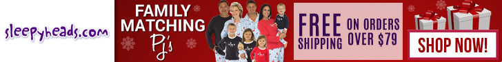 Family Matching PJ's at Sleepyheads.com