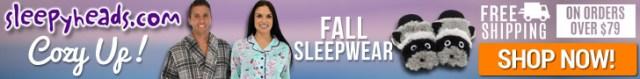 Cozy Up With Fall Sleepwear at Sleepyheads.com