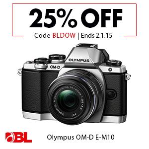 Olympus OM-D E-M10 Micro 4/3 Digital Camera