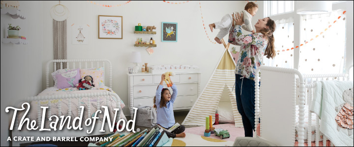 Land Of Nod: Design for Kids and People That Used to be Kids