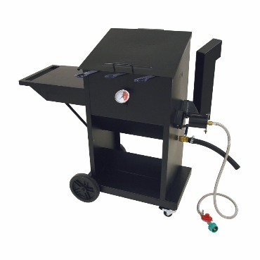 Bayou Classic 9-Gallon Fryer With 3 Stainless Baskets
