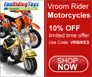 Vroom Rider, Kids Motorcycle, Toddler Motorcycle