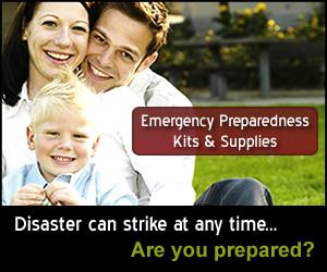 Emergency Preparedness Kits & Supplies