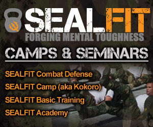 Train with true warriors - Former Navy Seals challenge your physical capabilities