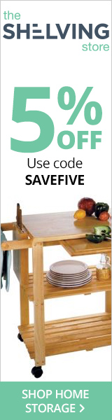 Save 5% On All Orders! Use code SAVEFIVE at TheShelvingStore.com