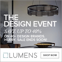Save up to 40% on 40+ brands during The Design Event. Free shipping. Limited time only.