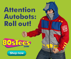 Amazing Transformers Gear at 80sTees.com