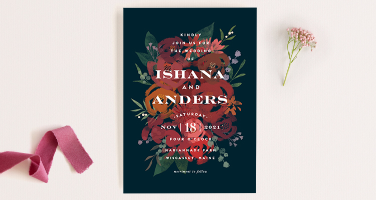 Wedding invitation wording that wont make you barf offbeat bride festivities will begin at 100 with dinner dancing and happily ever afters to follow filmwisefo