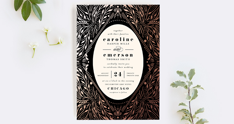 Wedding invitation wording that wont make you barf offbeat bride wedding website stopboris Image collections
