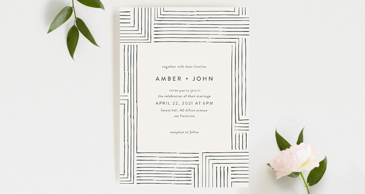 Wedding invitation wording that wont make you barf Offbeat Bride