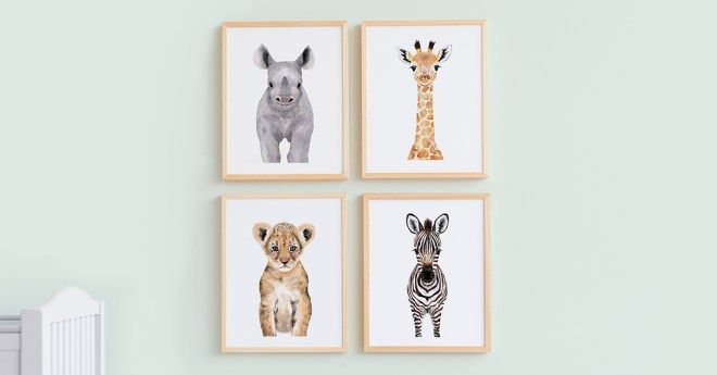 Nursery Art from Minted Art