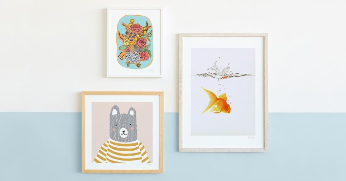 Children's art from Minted