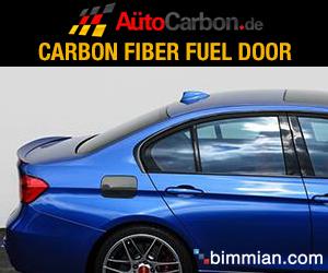 Carbon Fiber Fuel Door for BMW F30/31