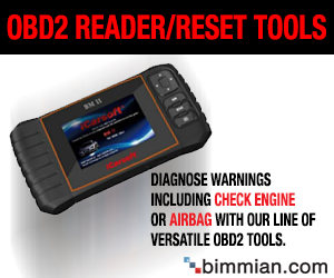 OBD2 Engine Code Reader and Reset Tools