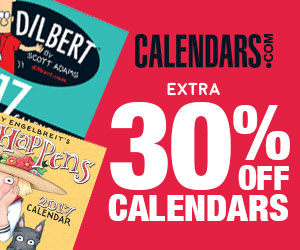 Extra 30 Percent Off Calendars
