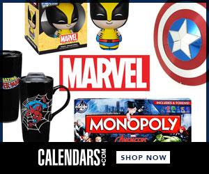 Shop Marvel at Calendars.com Now!