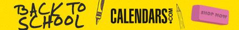 Shop Back to School at Calendars.com Now!