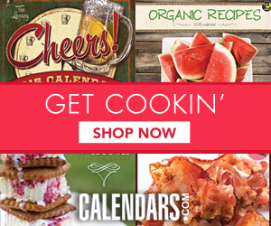 Shop Food, Drink, and Recipe Calendars!