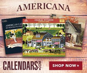 Shop Americana Calendars Now!