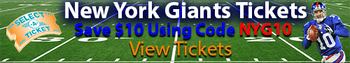 Save $10 On Your Giants Ticket Purchase