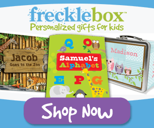 Shop for personalized gifts at Frecklebox.com now.