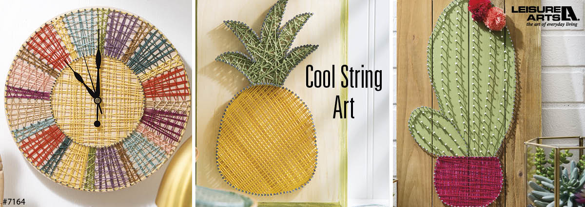 Crafts in Cool String Art