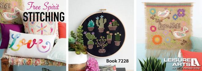 Free Spirit Stitching - 8 Vibrant & Colorful Stitching Adventures