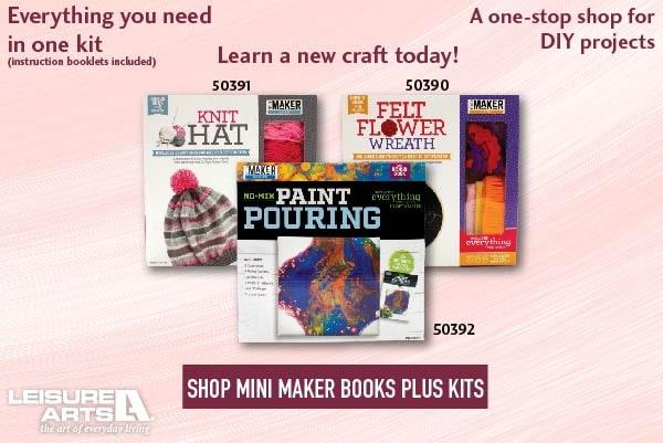 Mini Maker Books Plus Kits