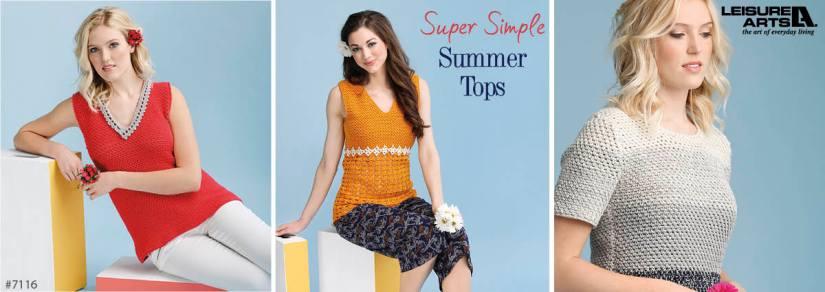 Crochet Summer Tops