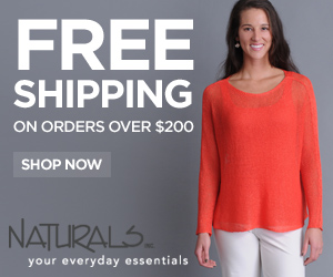 Enjoy free shipping on all orders over $200 at Naturals!