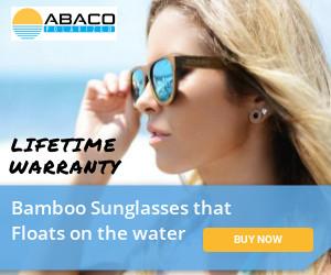 Bamboo Sunglasses that Floats