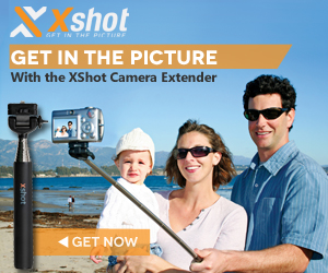 XShot selfie stick family portrait