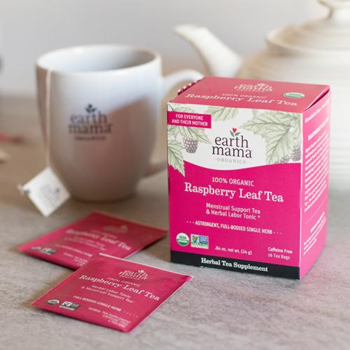 Earth Mama Organics - Organic Raspberry Leaf Tea