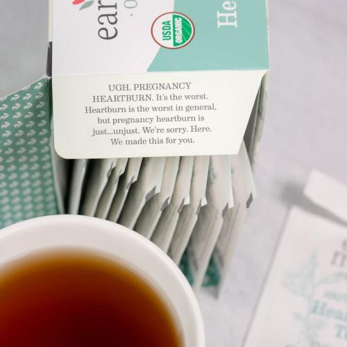 Earth Mama Organics - Organic Heartburn Tea