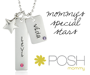 Personalized Tags from POSH Mommy Jewelry