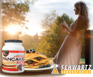 Protein Pancake Mix from Schwartz Labs