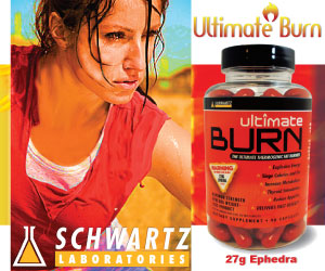 Ultimate Burn with Ephedra from Schwartz Labs