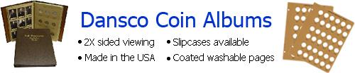 Dansco Coin Albums