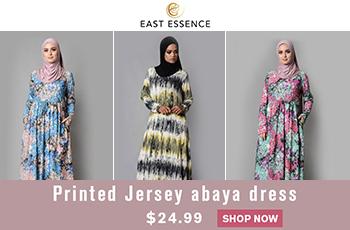 Printed Abaya Dresses