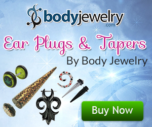 Ear Plugs and Tapers By Body Jewelry
