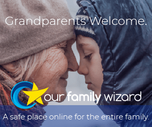 Grandparents are welcome on the OurFamilyWizard website.