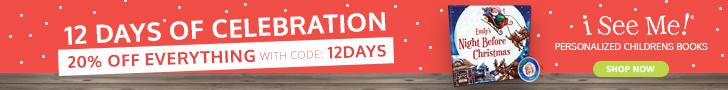 12 Days of Santa- 20% off at ISeeMe!