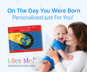 New- On the Day You Were Born, personalized book from ISeeMe