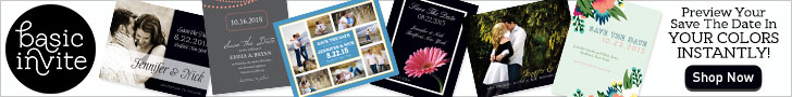 Preview Your Save The Date in Your Colors Instantly!