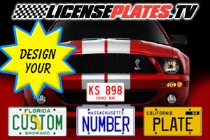 Custom License Plates for All 50 States