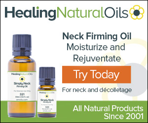 All natural neck firming oil
